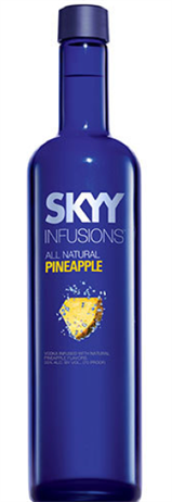 Skyy Vodka Infusions Pineapple